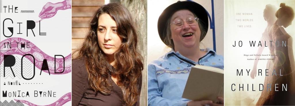 2014 Tiptree Winners, Monica Byrne and Jo Walton